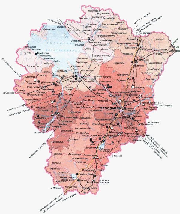 Приложение – «Карта города